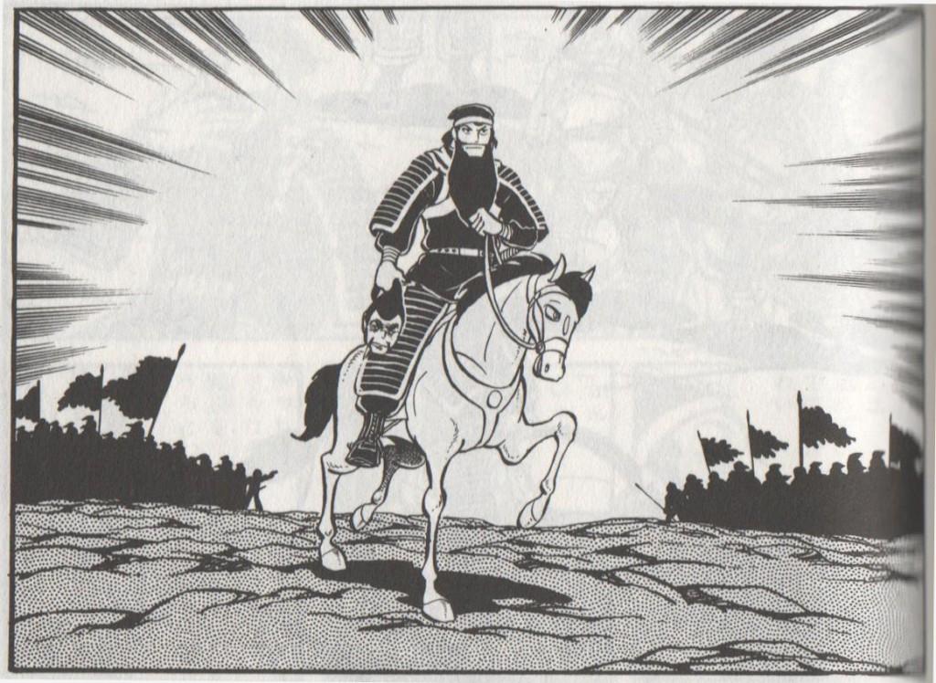 関羽、敵将・華雄を討ち取る