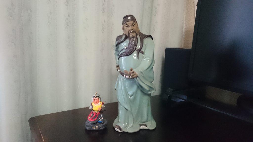 関羽と趙雲の比較